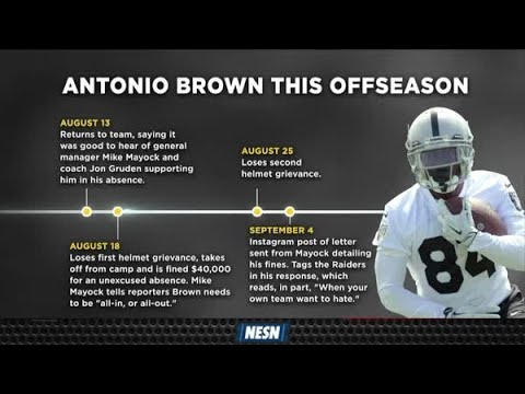 Antonio Brown Calls Out Raiders, Makes Vow In Stern