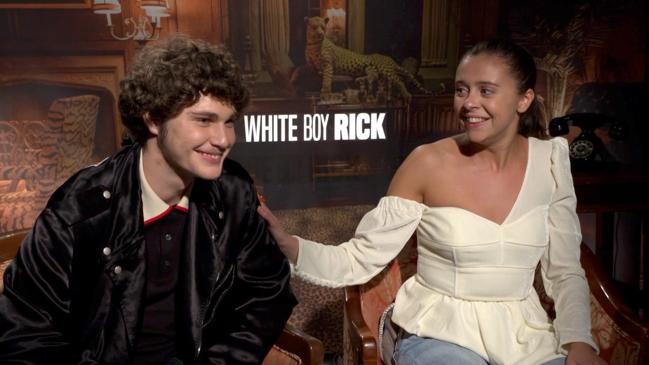 White Boy Rick Interview with Richie Merritt & Bel Powley | Collider